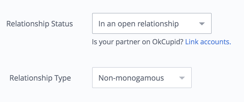 Screenshot from my okcupid account.