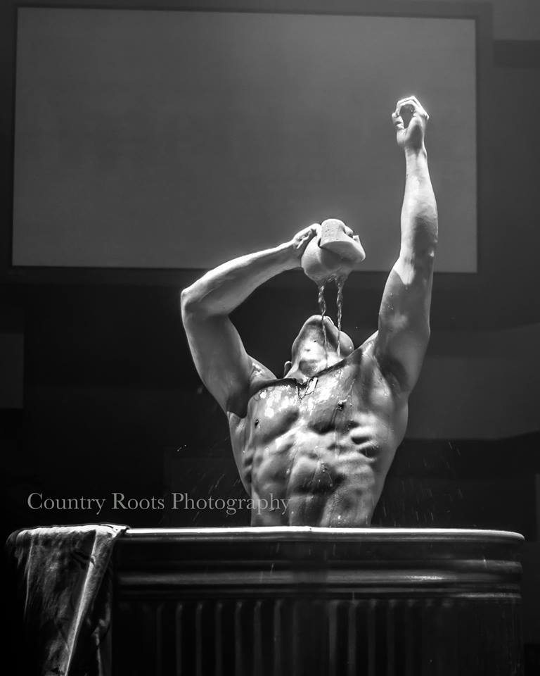 """Tommy Gun"" performing in Las Vegas, Planet Hollywood Casino, for the ""Aussie Heat"". See his Instagram: @tommy_gun_malestripper"