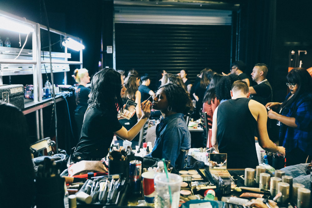 The Pin Show 2017, backstage