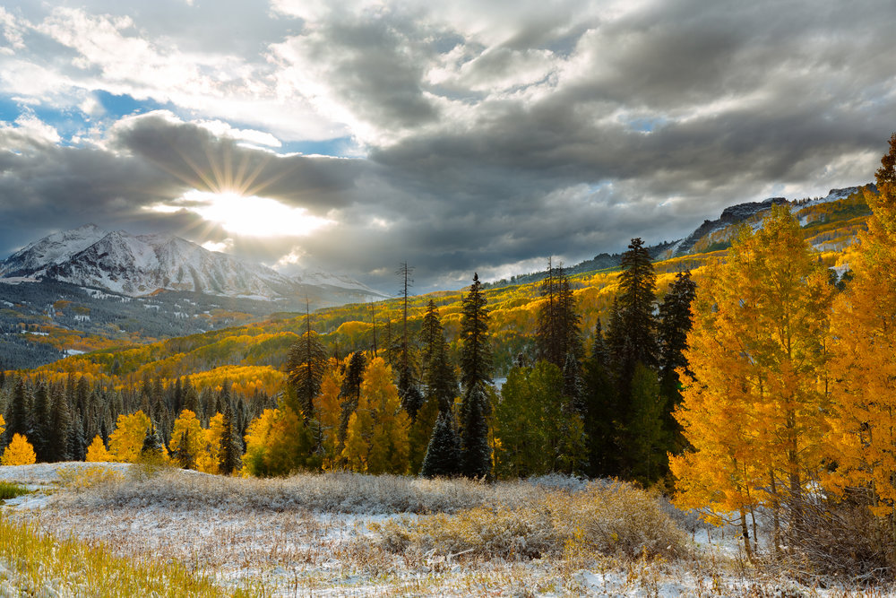Crested Butte's Magic - Kebler Pass, CO -  Prints Available