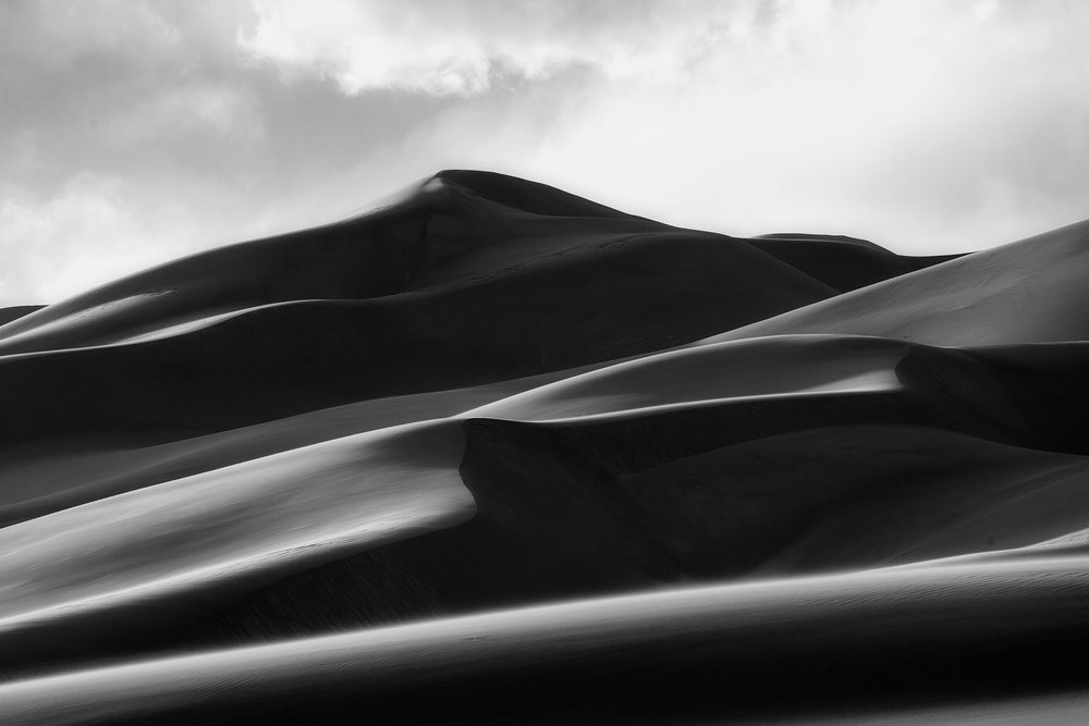 Stacked dunes - buy a print  here