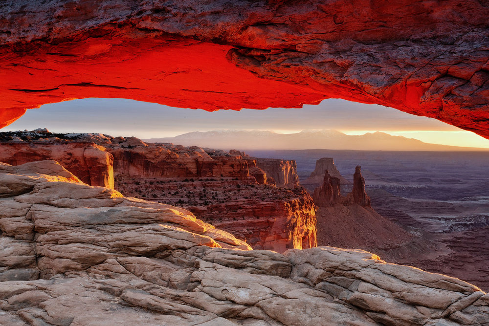 mesa arch and that amazing glow!