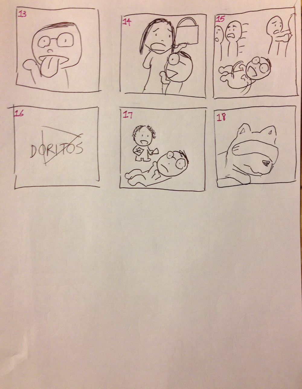 Trick for Treat Storyboards 2.JPG
