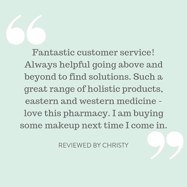 It absolutely makes our day to hear that our customers have had an amazing shopping experience at Harmony Pharmacy and Wellness Clinic. Visit us in Mosman or shop online now for Australia-wide delivery.