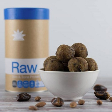Snacking healthy is key but it can also be tricky when you're juggling a busy schedule. We love to prepare protein balls for the week ahead with @amazoniaco Raw Slim & Tone to keep us fuller for longer and to beat those sneaky sugar cravings. Shop in-store or online now through the link in our bio.