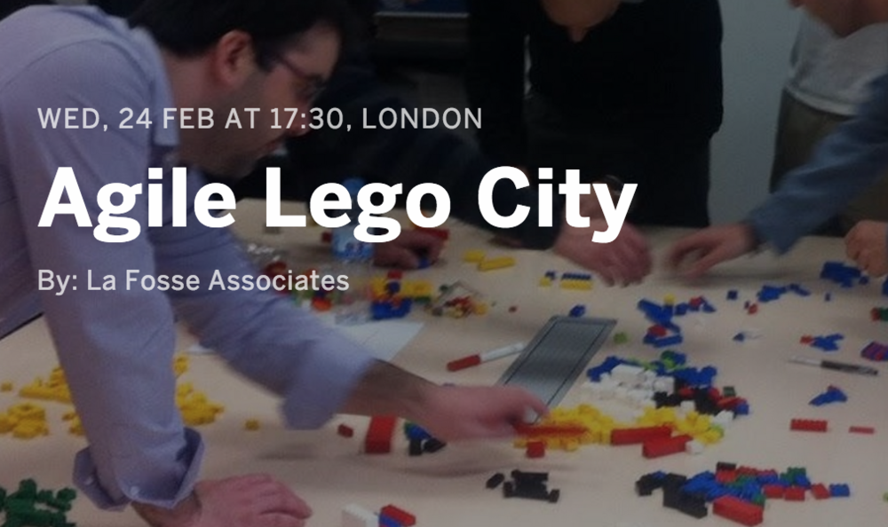 Agile Lego City - Agile At Scale