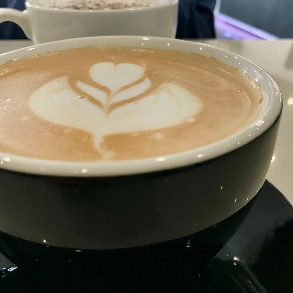 that's some good #latteart right there!