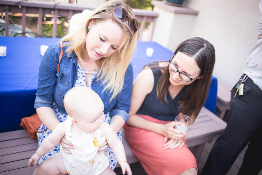 Lifestyle Wedding in Los Angeles with Kate Van Amringe baby and mom