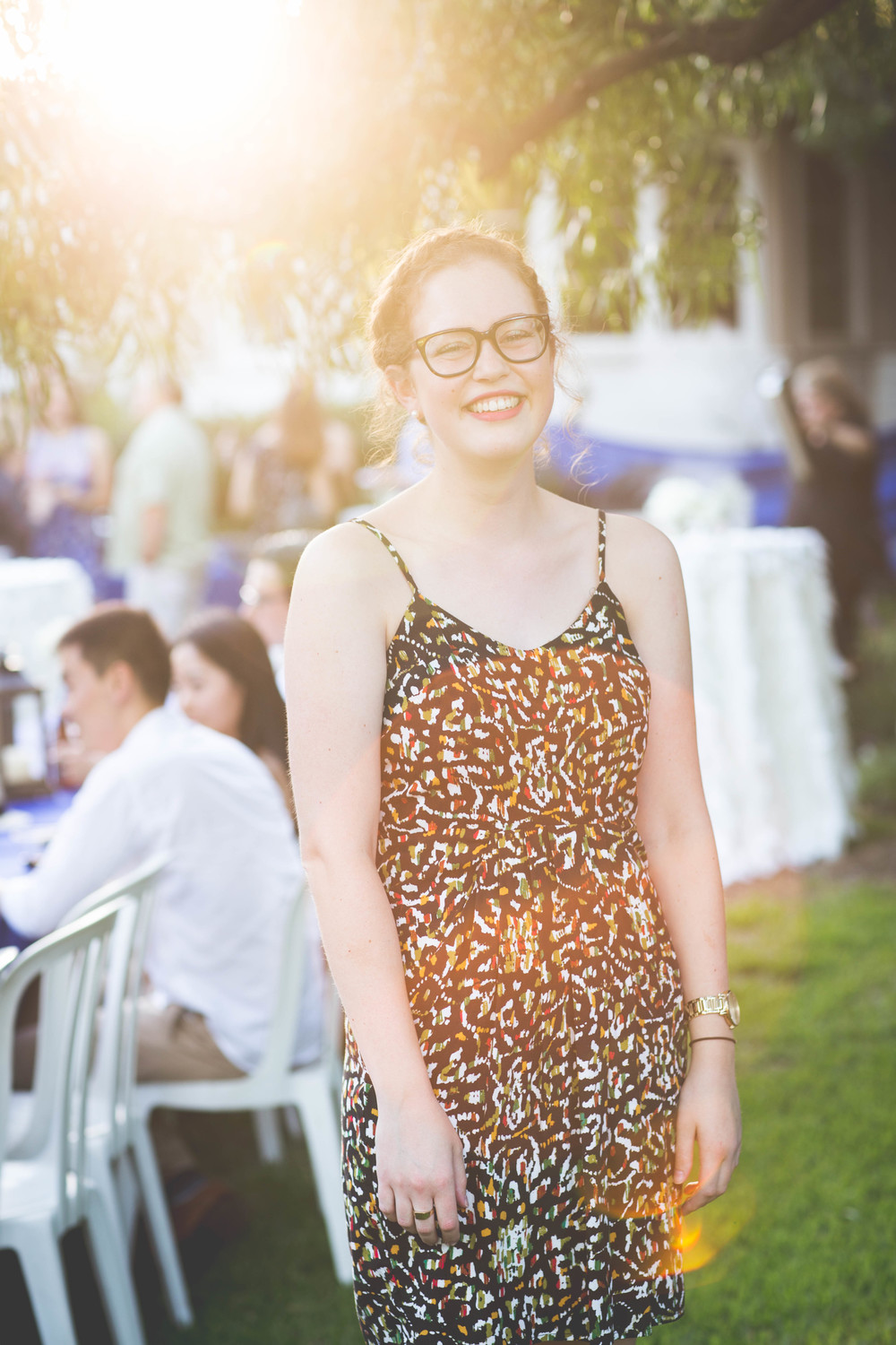 Lifestyle Wedding in Los Angeles with Kate Van Amringe Sunny Portrait