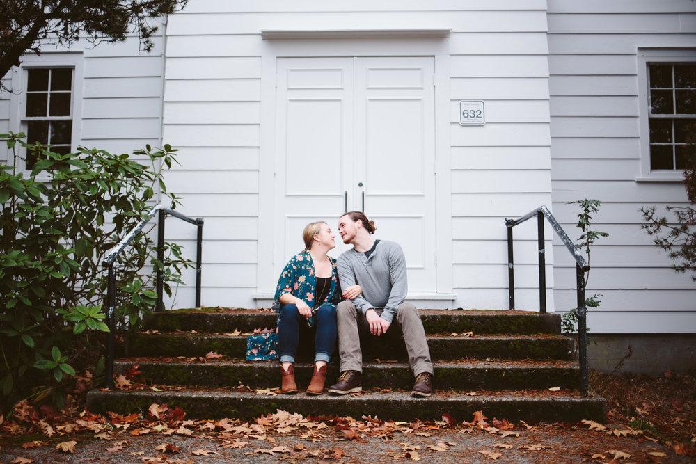 Kate Van Amringe Photography - Seattle, WA - Stitting on a Stoop