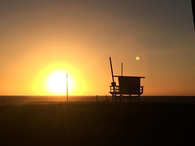 #beautiful #sunset #venicebeach