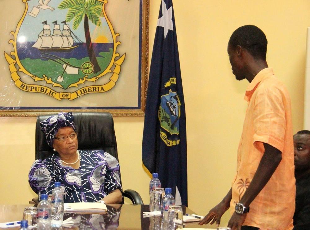 President Ellen Johnson Sirleaf, President of Liberia & Nobel Peace Laurette