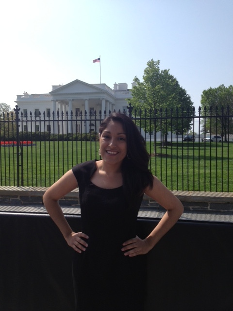 Karyssa Zavala, USA, YBY Champion on a break from her job in Washington DC