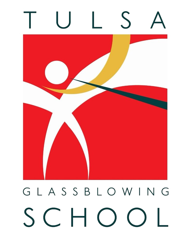 Tulsa Glass Blowing School logo.png