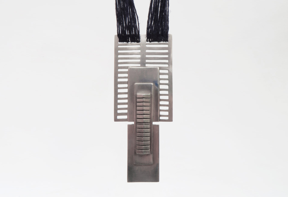 Simone Brewster Jewellery Silver Metropolis