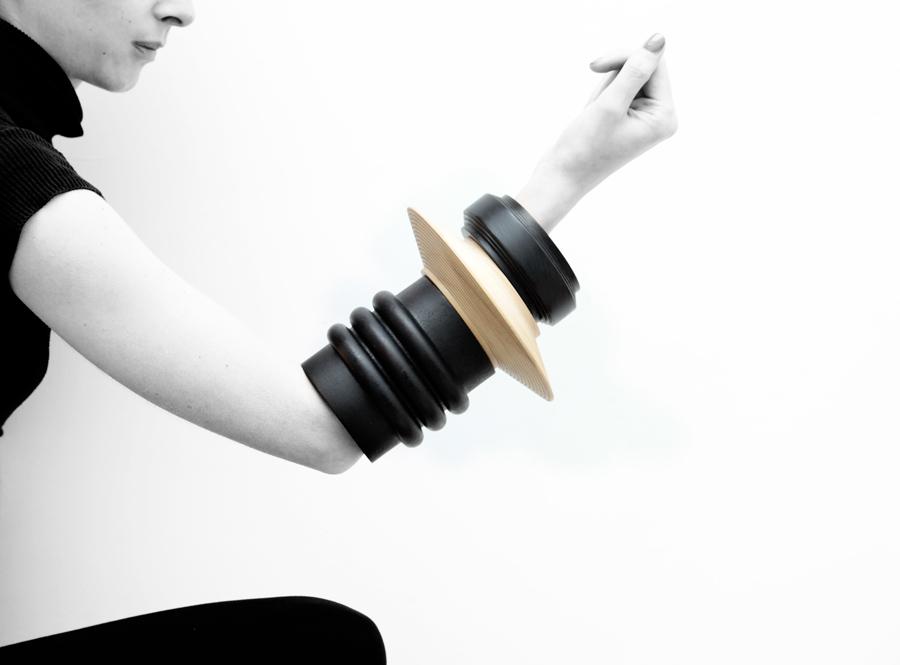 Simone Brewster Jewellery Ebony Revolution Bracelets