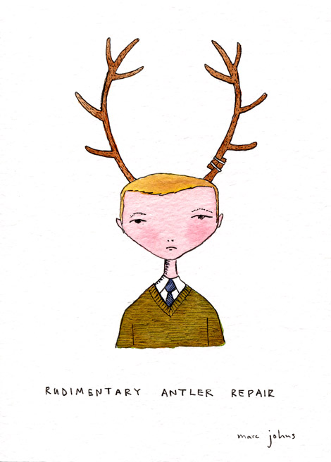 Marc Johns  Awesome illustrator I've just found!