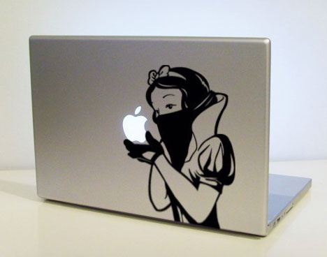 Clever laptop sticker - Core77