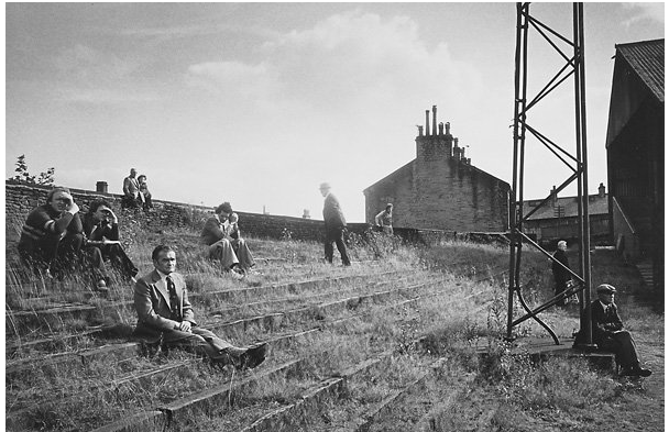 mpdrolet :      Thrum Hall Rugby Ground, Halifax, 1977     Martin Parr
