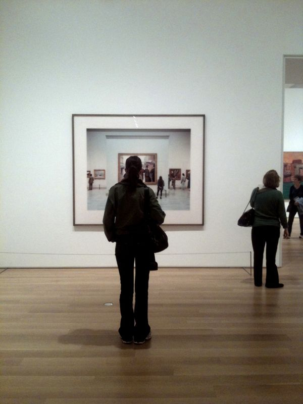 Thomas Struth Art Institute of Chicago II Chicago 1990 #photography #museum