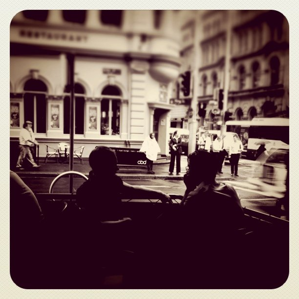 #street (Taken with  instagram  at Mecca Espresso)