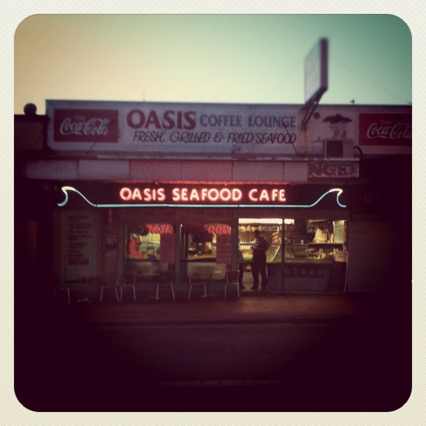 (Taken with instagram at Oasis Seafood Cafe)