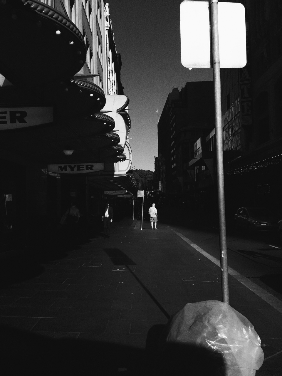Evening Sunlight - Market St Sydney