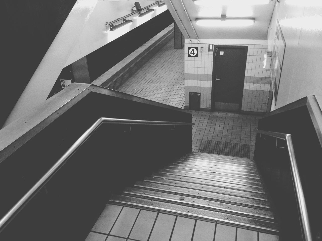 in transit…