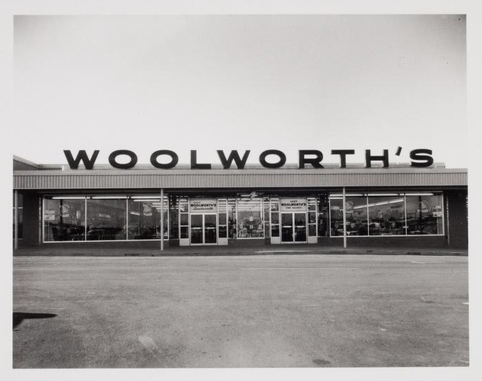 ckck: Woolworth's. Fort Worth, Texas, circa 1950s, by Bill Wood.