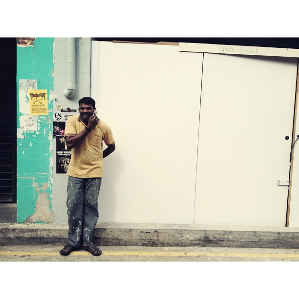 Street portraits #singapore #streetphotography  (Taken with  instagram )