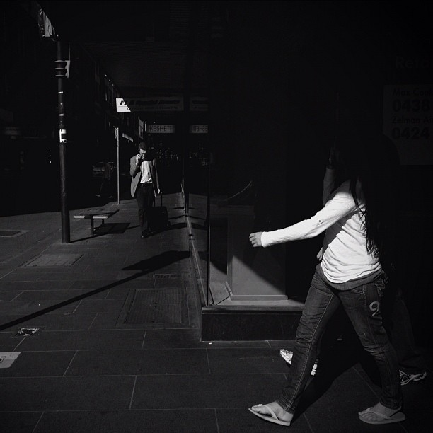 some days are good some days are bad, you just gotta ride with it. 500 frames and not much…. #mobilephotography #streetphotography #melbourne (Taken with  instagram )