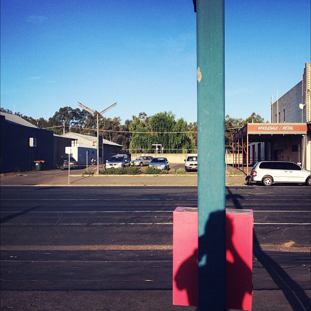 Wagga Wagga #poles #streetphotography #shadows (Taken with  instagram )
