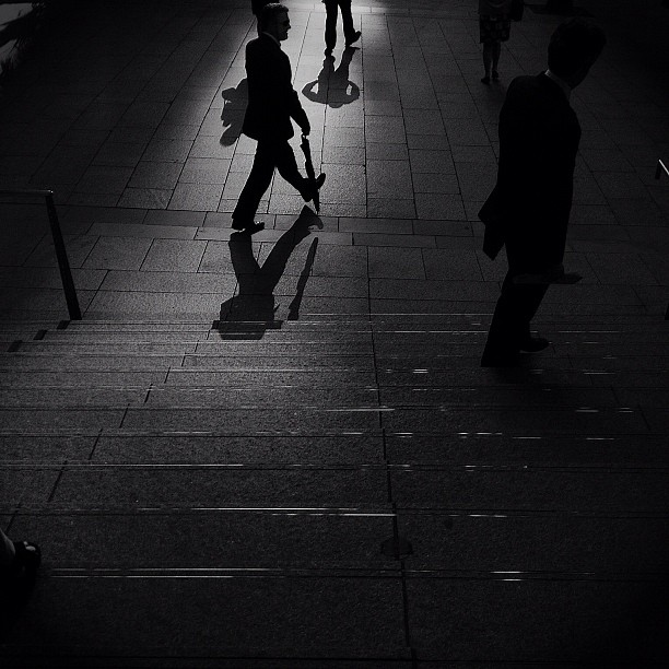 #streetphotography #sydney #shadows  (Taken with  instagram )