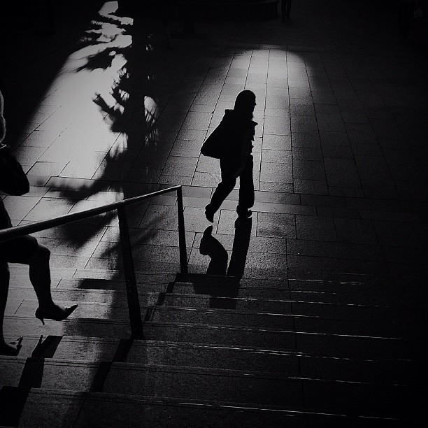 #streetphotography #shadows #sydney  (Taken with  instagram )