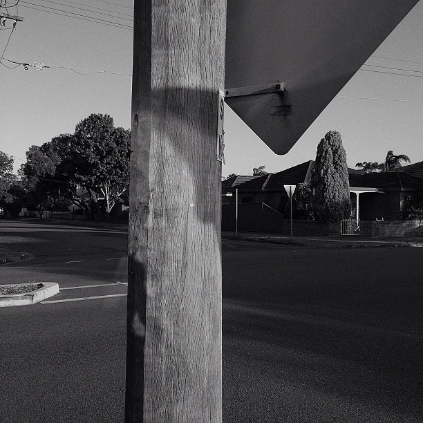 #poles #streetphotography #friedlander #suburbia  (Taken with  instagram )