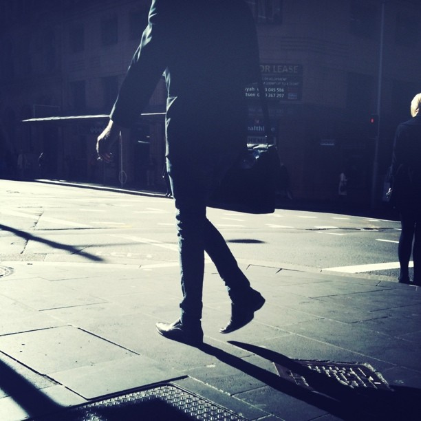 #street #shadows #sydIG (Taken with  instagram )