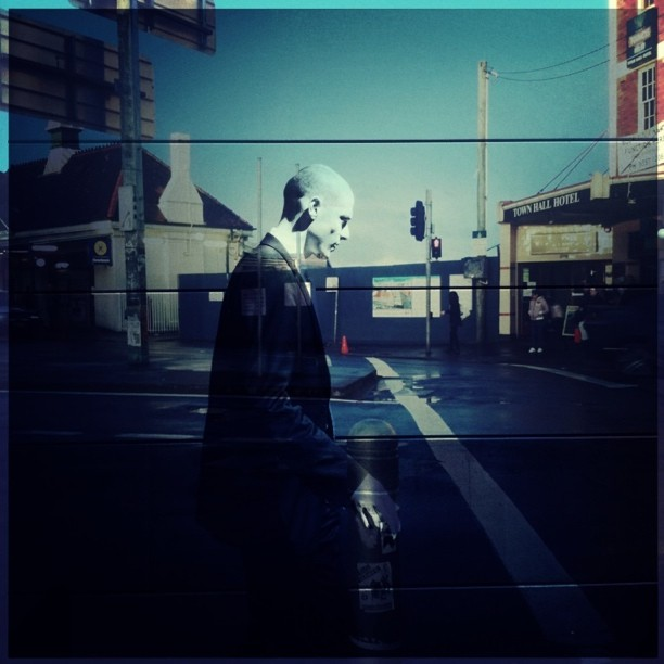 #transparent #streetphotography #newtown  (Taken with  instagram )