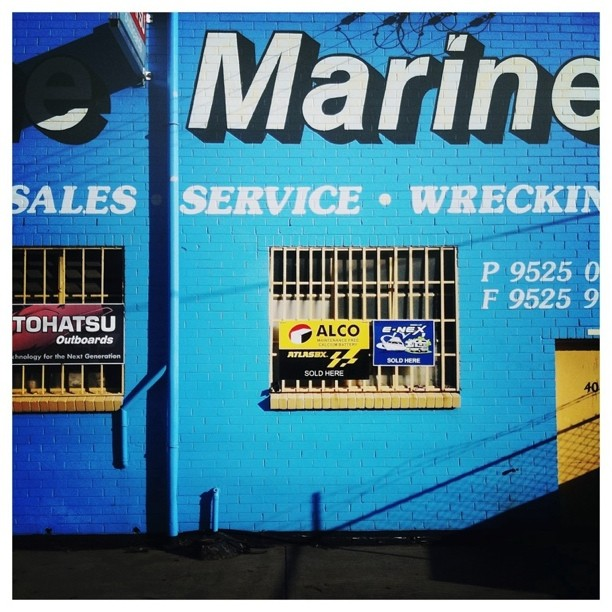 #industrial #typography (Taken with instagram)