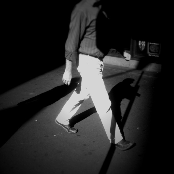 #street #shadows #sydney  (Taken with  instagram )