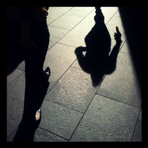 #street #shadows  (Taken with  instagram )
