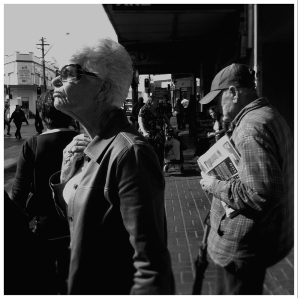 one needs to sun ones self occasionally  #streetphotography  (Taken with  instagram )