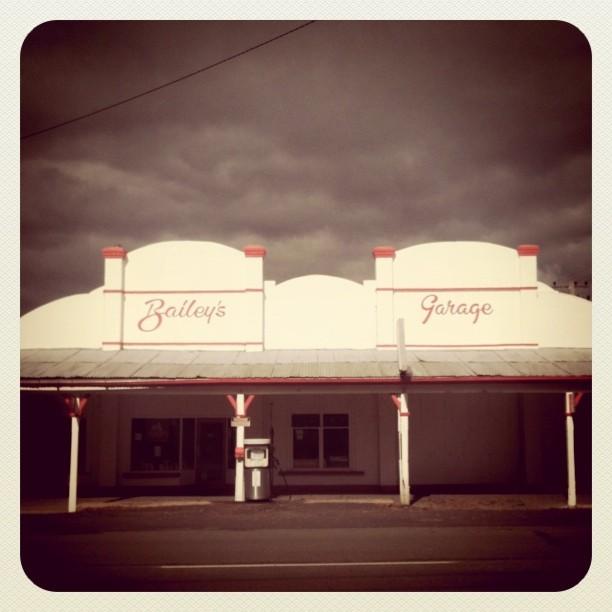 bailys garage gunning #roadtrip #typography (Taken with  instagram )