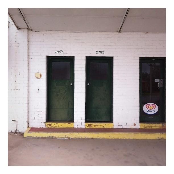 #doors #roadtrip #ladies #gents (Taken with  Instagram  at Hollbrook Bakery)