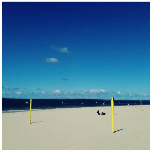 brighton beach (Taken with  instagram )