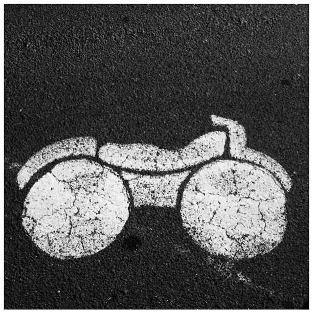 #pictogram #symbol #motorbike  (Taken with  instagram )