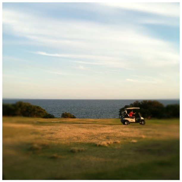 #golf (Taken with  Instagram  at the coast golf club)
