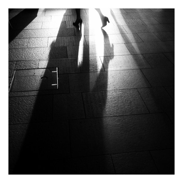 #street #shadows #filmNoir (Taken with  instagram )
