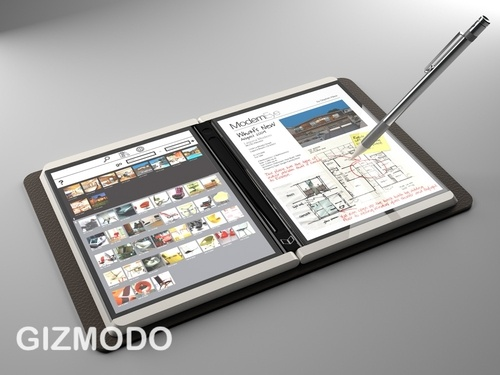 Courier: First Details of Microsoft's Secret Tablet - Microsoft courier tablet - Gizmodo