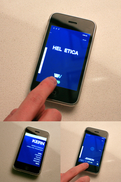 bauldoff :    Meet  KERN , the Tetris-meets-typography video game for iPhone. I don't know at what level of geekdom one has to be to desire this game… but I am  so  there. By  FORMation Alliance . (via  Quipsologies )