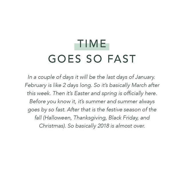 Who's with me on this one? ➖ #timegoesfastwhenyourhavingfun #lifeis #thatslife #elämä #yrittäjyys #ruuhkavuodet #mihinaikamenee #helmikuu #hellojanuary #hello2018